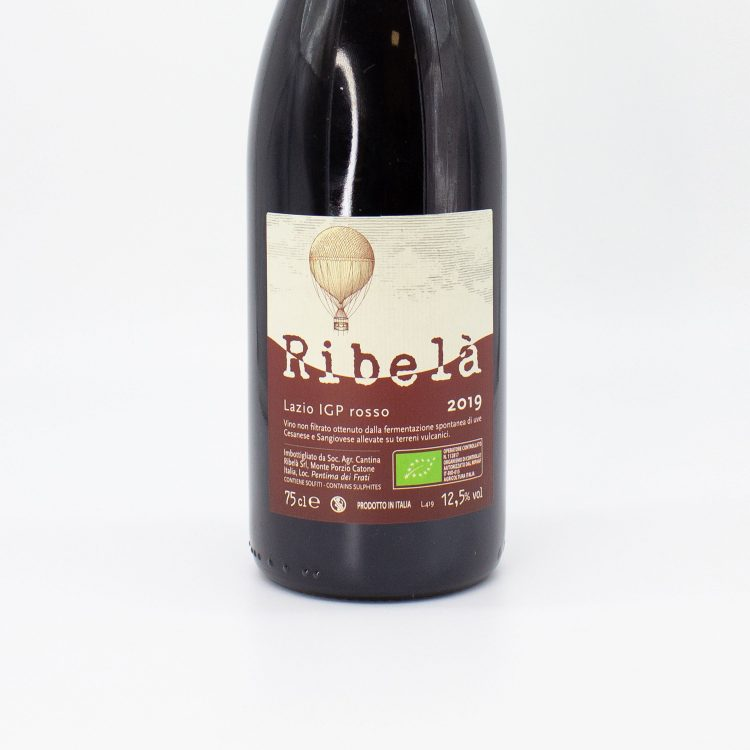 Ribelà Rosso - Cantina Ribelà etichetta